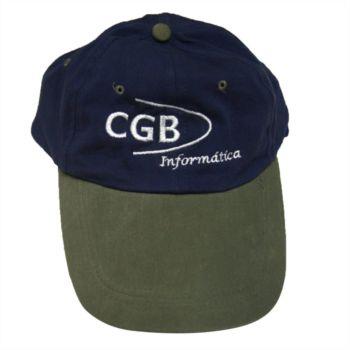 Gorra color azul y gris Cgb