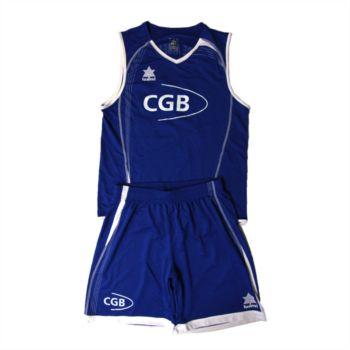 Conjunto camiseta y pantalón baloncesto Cgb