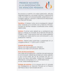 Premios de Investigación en Atención Primaria de Castilla y León