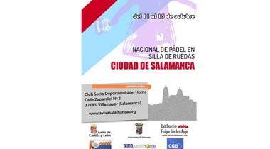 Nacional de Pádel en silla de Ruedas CIU