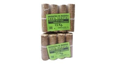 Briquetas de madera 15Kg