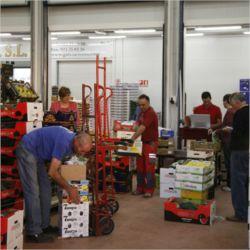 En el pabellón hortofrutícola hay 28 puestos de venta.
