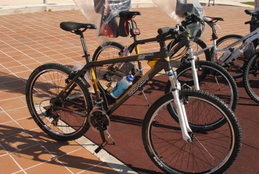 Bicicletas oferta Complejo turístico Sardón