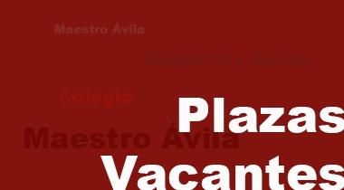 Plazas vacantes