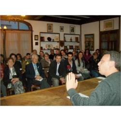 """Conferencia: """"INMIGRANTES, OBREROS, SOCIALISTAS Y MASONES"""". """"XXV CONGRESO DE HISTORIA: 40º ANIVERSARIO"""" del Gabinete Marplatense de Estudios Históricos Regionales (1974-2014)."""