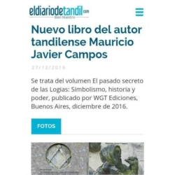 El Diario de Tandil 2016.