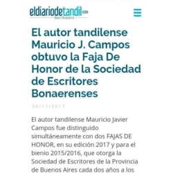 Fajas de Honor 2017