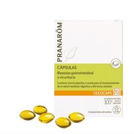 Pranarom Oleocaps 2Bienestar G-I y Urinario. 30 Capsulas