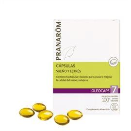 Pranarom Oleocaps 7 Sueño y Estres. 30 Cps