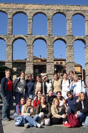Excursión de estudiantes
