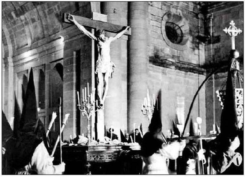 Cruz del Cofradía del Silencio