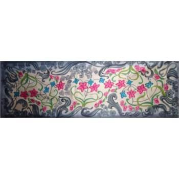 Nouveau. Pañuelo de seda 100% (twill) creado por Ana Zaragozá.