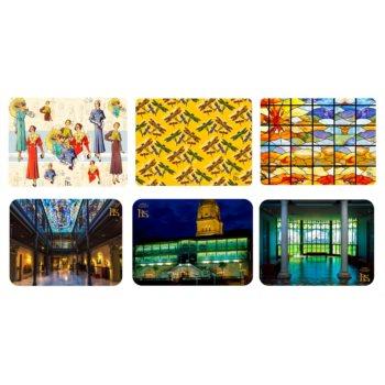 Colección de Seis salvamanteles del Museo Casa Lis