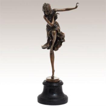 Bailarina Hindú, Claire J.R. Colinet