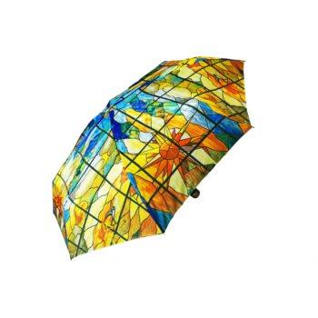 """Paraguas plegable colección """"vidriera"""""""