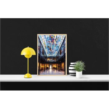 Lámina. Patio interior del Museo Casa Lis.