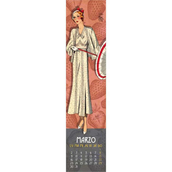 Calendario Moda 2020.La Tienda De Lis