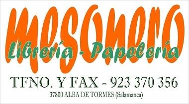 Librería Papelería Mesonero