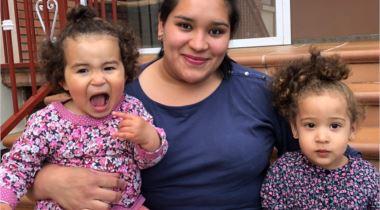 Aren, Rosanely y Nayra