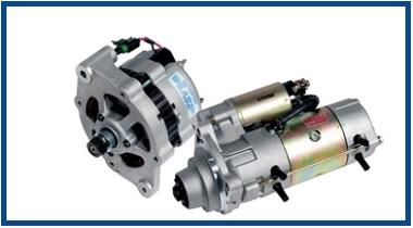 Motores de arranque y alternadores