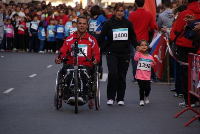 Participantes Carrera Solidaria de los 1.000 pasos