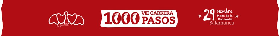 Carrera solidaria y popular 1000 pasos