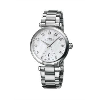 Reloj analógico y acero Sandoz 72578-00 color plata mujer brazalete