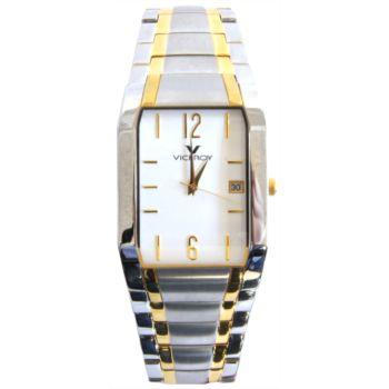 Reloj analógico y acero caballero brazalete Viceroy 47591-95