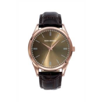 Reloj analógico Mark Maddox Hc0008-47 color marrón brazalete hombre