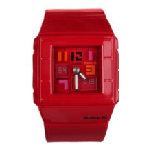 Reloj digital Casio BGA-200PD-4BER Rojo