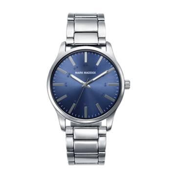 Reloj analógico Mark Maddox Hm7008-37 color azul brazalete hombre